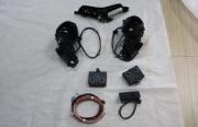 奥迪A4L改装原厂电动后视镜电耳倒车影像