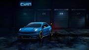 领克与Cyan Racing合作推出产生500马力的领克03 Cyan赛车