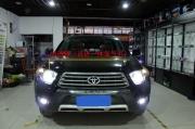 扬州汉兰达大灯改装国产一线品牌岩崎灯泡