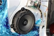 嵊州现代IX35音响改装魔乐歌R6 超薄有源低音