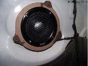 宝马320音响改装浪卡三分频诠释听觉新享受