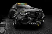 Carlex Design改装6轮碳纤维梅赛德斯·奔驰X级