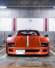 具有日本特色的法拉利F40改装