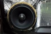斯巴鲁傲虎音响升级改装美国霸克音响
