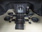 厦门雷克萨斯ES350汽车音响改装德国喜力仕(HELIX)麦仕(MAT...