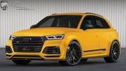 Lumma改装奥迪SQ5黄色宽体SUV,命名为CLR 5S