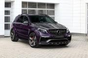 Topcar改装梅赛德斯AMG GLE 63,碳纤维搭配紫色皮革内饰
