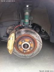 [推荐] 凯美瑞改装定制包围+19寸黑电镀轮毂