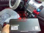 福瑞迪科骏达DVD6075G安装超薄MBQ低音炮DIY作业