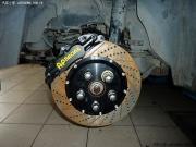 凯迪拉克CTS改装AP刹车作业