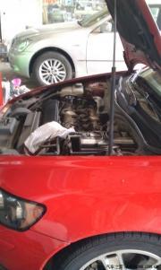 沃尔沃S40 T5清洗油路+换刹车油防冻液