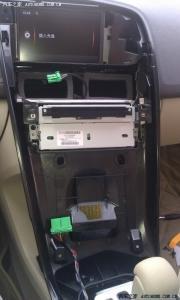 沃尔沃XC60改装SENSUS系统+倒车影像