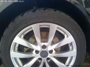奥迪A6L改装作业之更换轮胎作业