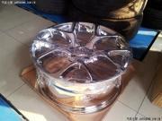 1.6T 君威改装19寸电镀GS轮毂+旗舰大灯