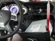 11款奔驰C200改装导航 DVD 数字电视 倒车影像