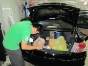 2011款雅阁2.4EX安装飞歌FA044 二代作业