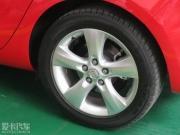 英朗GT改装18寸轮毂 短弹簧 黑顶 贴纸作业