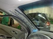 凯越改装HRV加装IX35原车倒车影像后视镜