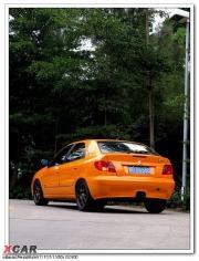 赛纳改装改色骚包橙+轮毂改装作业