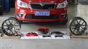 明锐改装Brembo刹车与RSE12轮毂作业