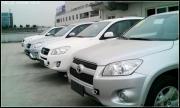 RAV4 2.0白色自豪提车+ 装饰作业