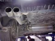 科鲁兹改装KMR双鼓双出扁口排气 WTCC版小包围等作业