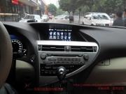 雷克萨斯RX270—装了DVD导航和倒车摄像