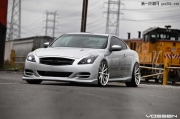 英菲尼迪G37 Coupe改装Vossen Wheels轮毂
