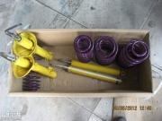 宝来改装 更换马特威运动短弹簧和避震
