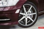 Vossen Wheels 改装奔驰S550 六幅轮毂上身