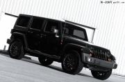 纯黑的灵魂 Kahn Design推出Jeep牧马人改装套件