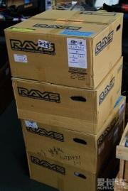 思铂睿改装RAYS 57Xtreme轻量铸造轮圈作业
