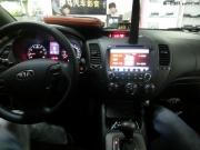 佛山起亚K3改装汽车音响作业