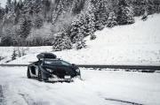开着大牛去滑雪 兰博基尼Aventador改装!