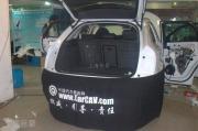 奥迪Q3汽车音响改装作业过程欣赏