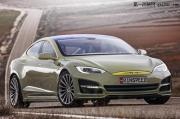特斯拉概念改装:Model S自动驾驶