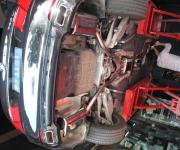 豪华升级—宝马730改740排气管 740中尾段排气
