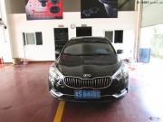 起亚K3灯光升级改装韩版超亮度LED灯眉、泪眼、原装Q5双光...