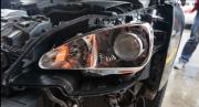 标志307大灯改装双光透镜  加欧司朗灯泡