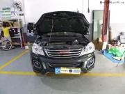 揭阳长城哈弗H6新车升级原装Q5双光透镜