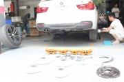 宝马 BMW F30 328i 改装德国原厂Performance刹车套件