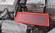 大众cc装19寸INOVIT Haste 不锈钢包边轮毂配245/35R19轮胎