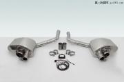 保时捷Panamera车型改装TECHART运动排气系统